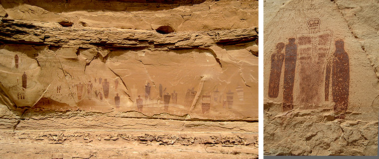 Horseshoe Canyon Grand Gallery