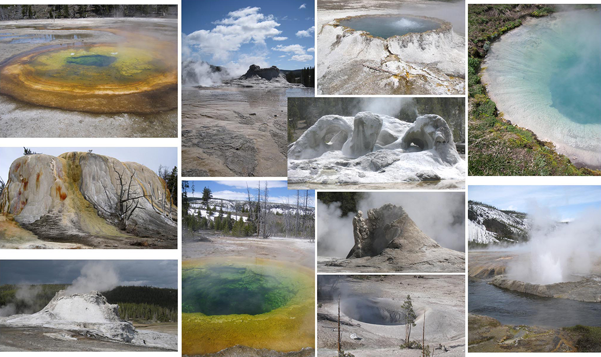 Yellowstone National Park Thermals
